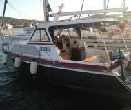Motor yacht Adriatic 790 for rent in Marine Betina