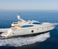 Motor yacht Aicon 64 Fly for rent in Milazzo