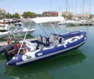 Yacht Avon 580 for rent in Lagos