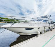 Motor yacht Azimut 62E for rent in Dolgoprudny