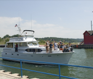 Chris Craft Roamer 55 Motoryacht Charter Saugatuck