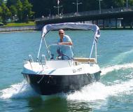 Corsiva 480 Motorboot Charter Deutschland