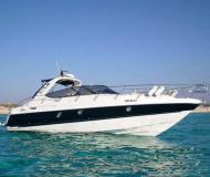 Motorboot Cranchi 41 Yachtcharter in Marina Ibiza