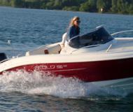 Motor yacht Eolo 590 Day for hire in Unteruhldingen