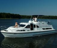Hausboot Europa 400 Yachtcharter in Marina Ketzin
