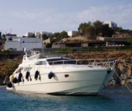 Ferretti 54 Fly available for charter in Port of Thira