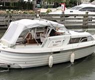 Motorboot Fjord 260 T Yachtcharter in Marina Scheeptimmerwerf