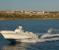 Motor yacht Flyer 650 Open available for charter in Mahon