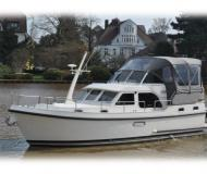 Motorboot Grand Sturdy 30.9 AC Yachtcharter in De Spaenjerd Marina