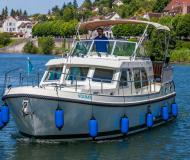 Houseboat Grand sturdy 34.9 for hire in Port Scey sur Saone