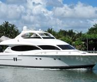 Yacht Lazzara 80 for rent in Bayshore Landing Marina