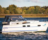 Motor boat Nautika 830 MC for charter in Wilkasy Marina