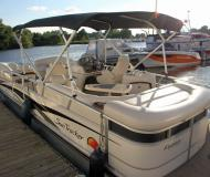Yacht Party Barge 25 Regency for hire in Marina BZH Bootszentrum