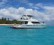 Catamaran Powercat 52 available for charter in Road Town