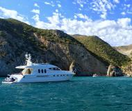 Motor yacht Princess 20M for charter in Alcantara Marina