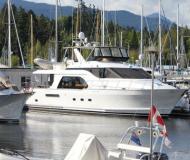 Yacht Queenship 64 chartern in Granville Insel Boatyard