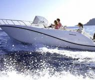 Motorboot Quicksilver Activ 675 Open chartern in Makarska