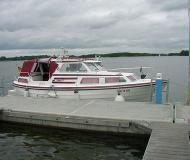 Motorboat Saga 27 AC available for charter in Boathouse Himmelpfort
