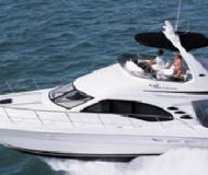 Yacht Sea Ray 400 available for charter in Bayshore Landing Marina