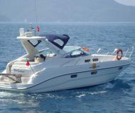 Motor yacht Sealine S28 for rent in La Savina