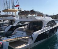 Motoryacht Sessa 42 Fly chartern in Marina Frapa