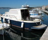 Motor yacht Sibenik 800 for rent in ACI Marina Trogir
