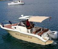 Motor yacht Sun Sport 845 available for charter in Trogir