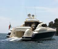 Motor yacht Sunseeker 80 Predator available for charter in Marina di Portisco