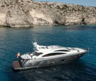 Yacht Sunseeker 86 Yachtcharter in Marina Ibiza