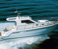 Motoryacht Vektor 950 Yachtcharter in Marina Sangulin