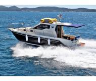 Motor yacht Vektor 950 for hire in Marina Dalmacija
