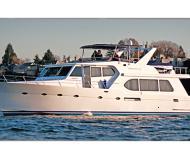 Motorboot Westcoast 64 Yachtcharter in Granville Insel Boatyard