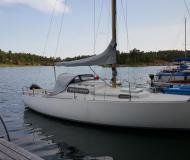 Sailing yacht Albin Viggen for hire in Sabyvikens Marina