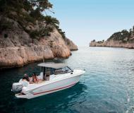 Motor yacht Antares 7.80 for charter in ACI Marina Trogir
