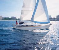 Yacht Bavaria 36 Cruiser available for charter in Port of Skopelos