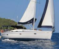 Sailing boat Bavaria 42 available for charter in Marigot Bay Marina
