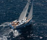 Sailing yacht Bavaria 45 Cruiser available for charter in Lefkas Marina