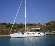 Yacht Bavaria 46 Cruiser for rent in Porto Koufo Harbour