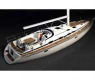Sailing yacht Bavaria 51 Cruiser available for charter in Skiathos main Harbour
