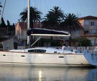 Sailing yacht Beneteau 43 for rent in Alcantara Marina