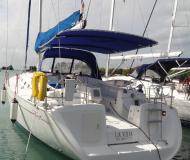 Yacht Cyclades 51.5 available for charter in Marigot Bay Marina