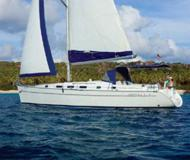 Sailing boat Cyclades 43.3 for charter in Ko Chang