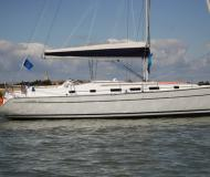 Sail boat Cyclades 43.4 for charter in Marina Eczanesi