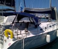 Yacht Cyclades 50.5 available for charter in Gouvia Marina