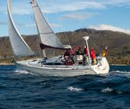 Sailing yacht Delphia 37 available for charter in Marinepollen Marina