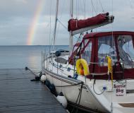 Segelboot Delphia 40 Yachtcharter in Yachthafen Tromso