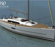 Segelboot Dufour 350 Grand Large Yachtcharter in Nikiti Marina
