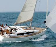 Sailing yacht Dufour 375 available for charter in Hyeres