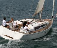 Sailing boat Dufour 375 Grand Large available for charter in Gashaga Marina