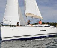 Segelboot Dufour 375 Grand Large Yachtcharter in Taalintehdas